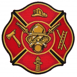 Firefighter Patches | Embroidered Fire Fighters & Fire