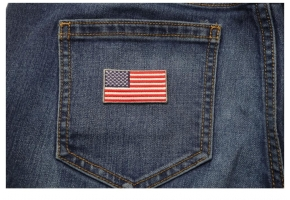 Shop Embroidered 2 Inch American Flag Patches