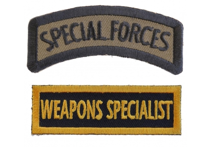 Recruiter Yellow Patch Club Rank Patches