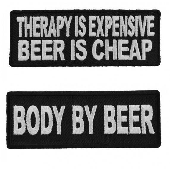 Embroidered Don/'t Bother I/'m Not Drunk Yet Sew or Iron on Patch Biker Patch