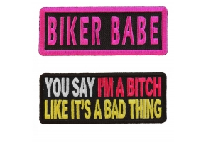Ladies Saying Patches