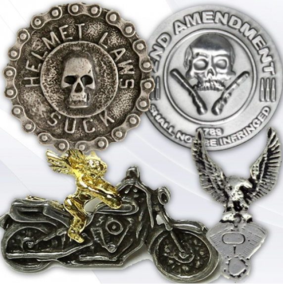 Shop Metal Motorcycle Pins for Bikers - TheCheapPlace
