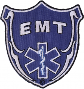 Shop First Responder Police Fireman EMT Iron on Patches - TheCheapPlace