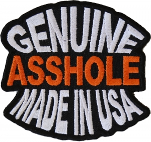 eeea2c1d3a7d1 Shop Humor and Offensive Iron on Patches - Vulgar and Mean Patches ...