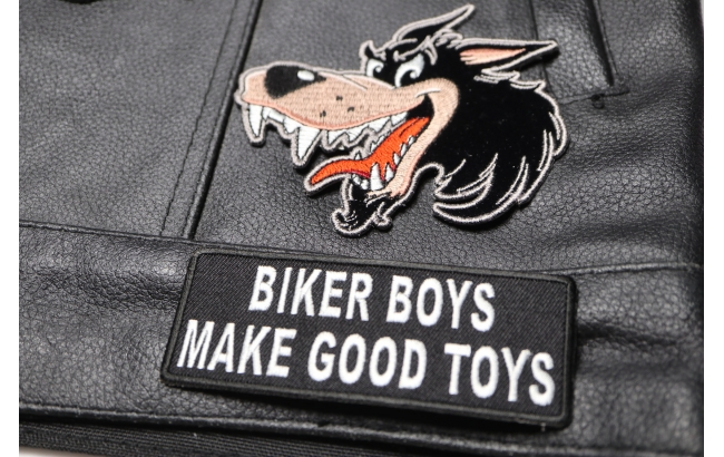 SGT AT ARMS MOTORCYCLE BIKER MC CLUB VEST MILITARY EMBROIDERED PATCH P-13