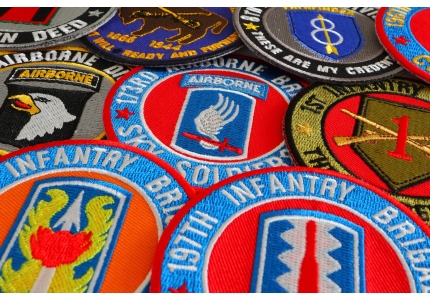 Embroidered Patches | Shop Iron On Embroidered Patches at