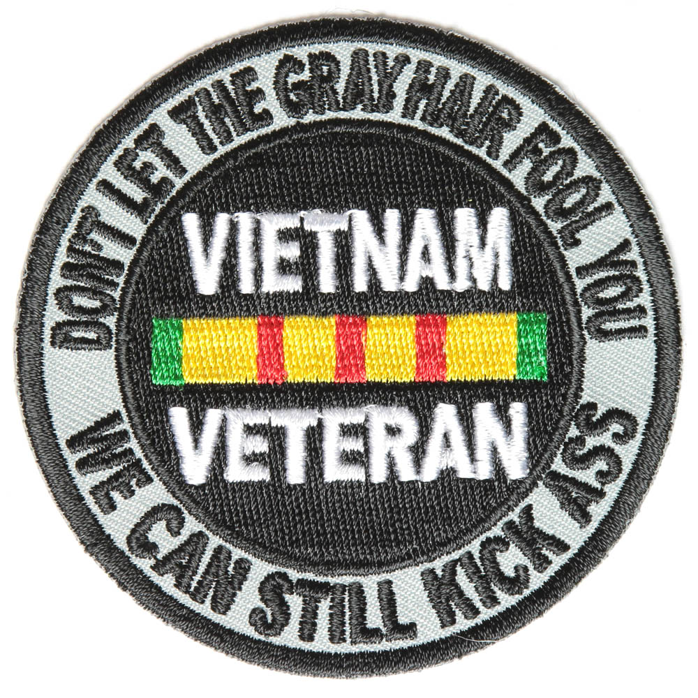 Vietnam Vet and Damn Proud of It Patch | US Military ... |Vietnam Veteran Patches And Badges