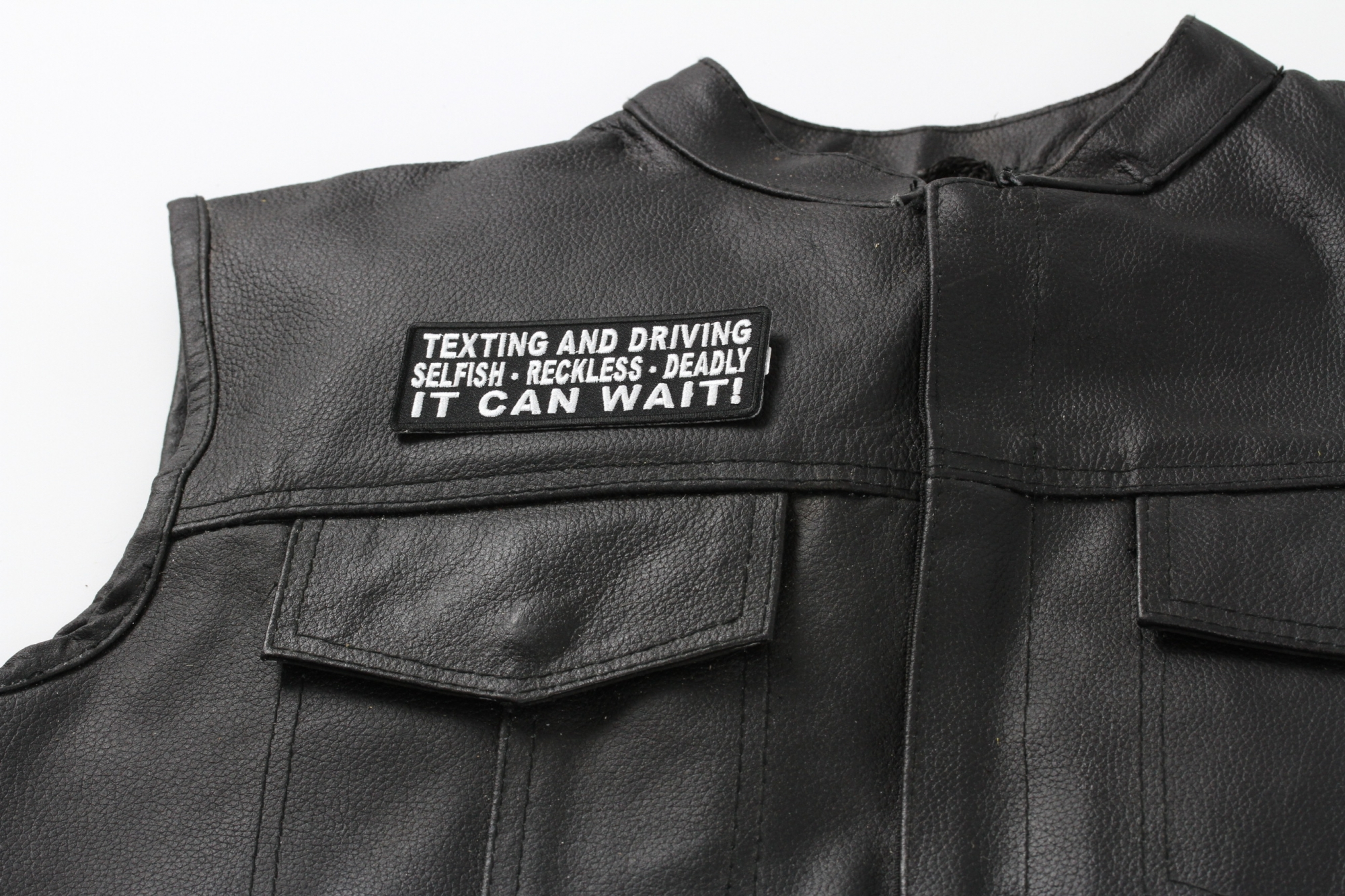 You Would Drive Better With That Phone Shoved Up Your Ass Iron on Patch