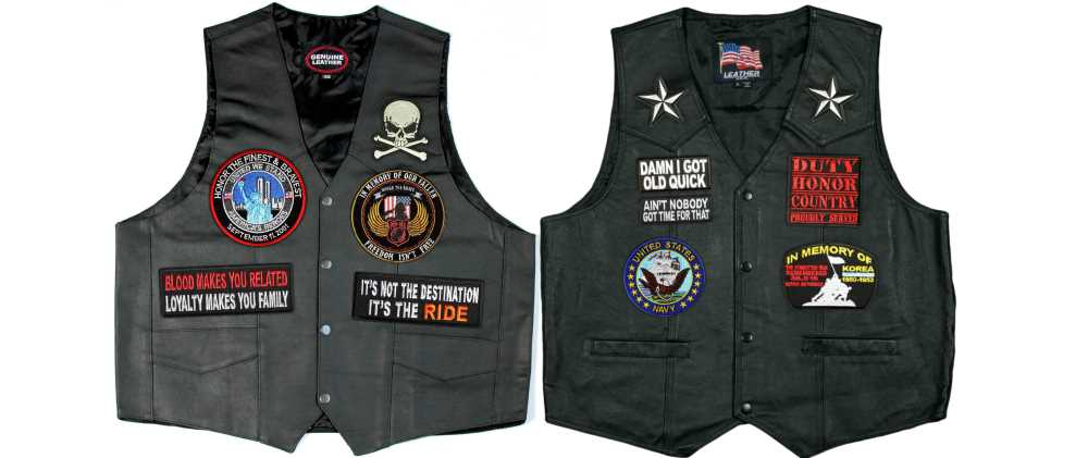 Biker Vest Patches >> Biker Patches For Vests And Jackets Cyclefish Com