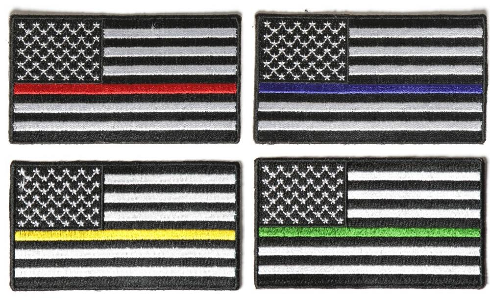 american stripes different flags colored thin servicemen flag similar