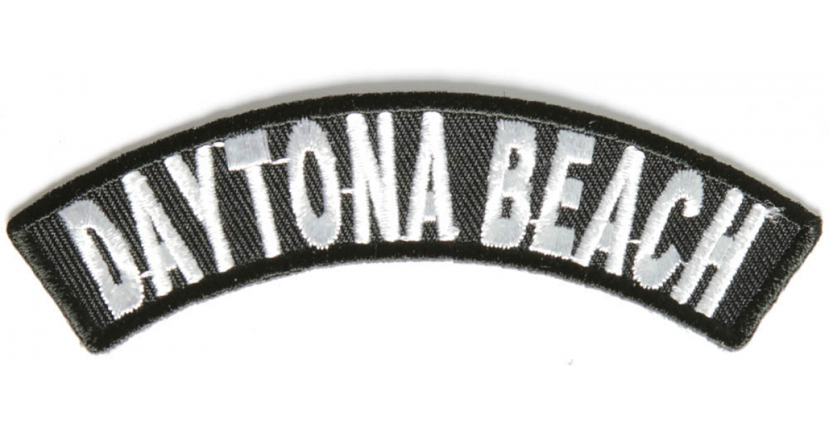 Details about  /Daytona Bike Week 2020 Patch 3 x 3.5 inch Embroidered Iron On Applique