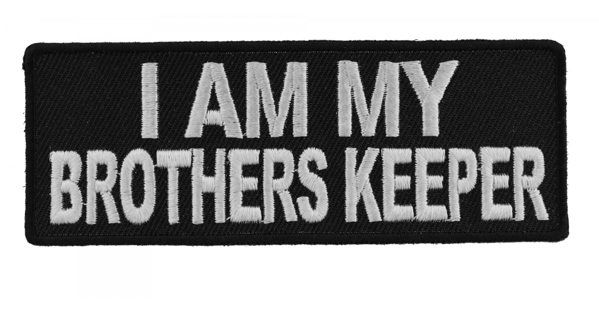 I Am My Brothers Keeper Patch Veteran Brotherhood Thecheapplace