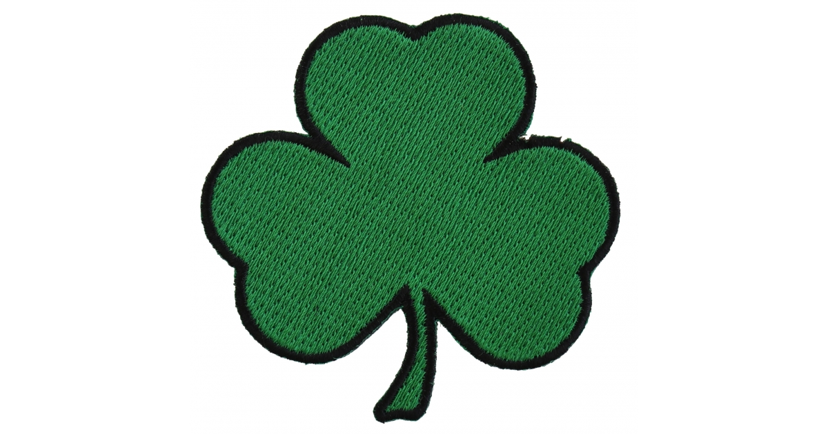 3 Leaf Clover Shamrock Patch Irish Pride Patches Thecheapplace