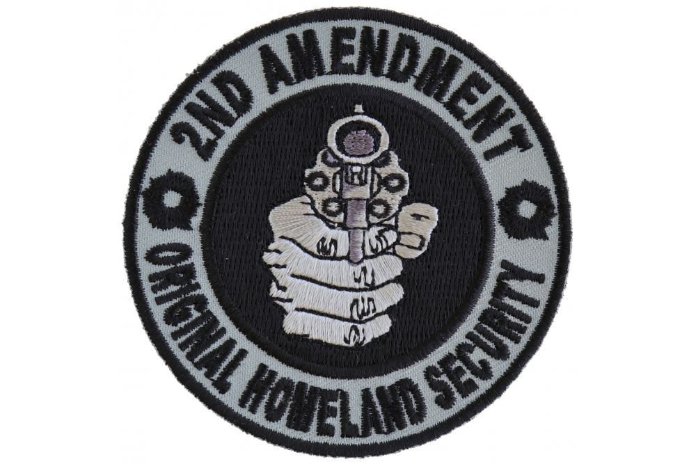 2ND Amendment Homeland Security Don/'t Tread on Me Patch Iron on Sew on