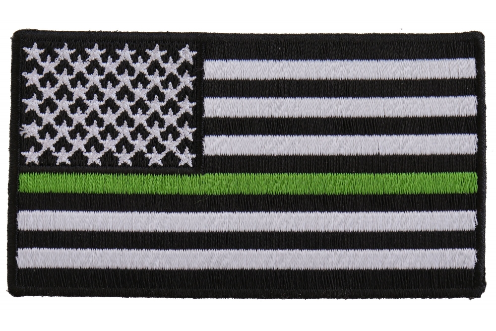Green America Ecology American Flag Patch