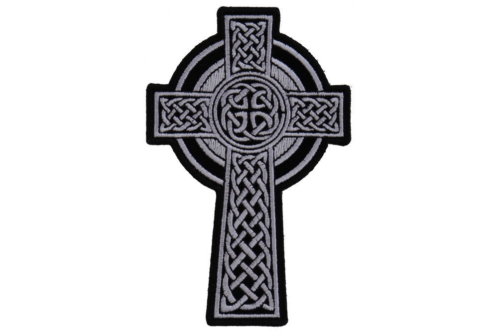 Celtic Cross Small Patch Christian Patches Thecheapplace
