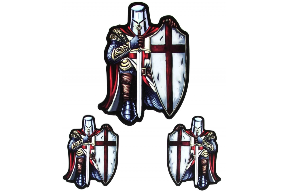 0dea9218784 Red Knight Crusader Sticker