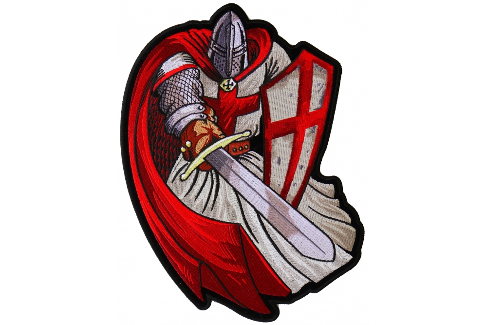 9506d4985f4 Red Cape Knight Large Back Patch - TheCheapPlace