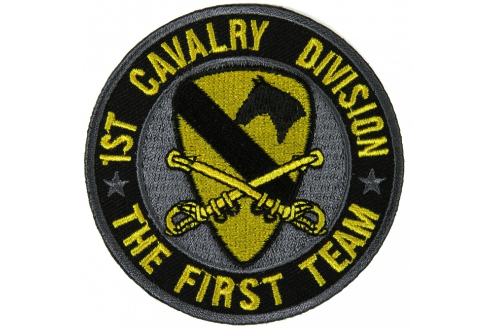 1st Cavalry Division Patch The First Team  ce1f71a0f98