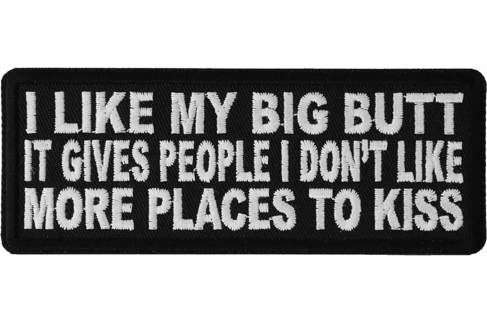 Kiss my big black ass