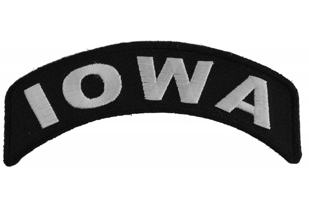 BRAND NEW OHIO STATE ROCKER BIKER IRON ON PATCH